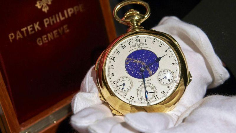 Đồng hồ Thụy Sỹ đắt nhất thế giới - Patek Philippe Supercomplication