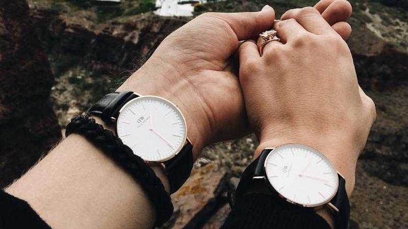 đồng hồ đôi daniel wellington