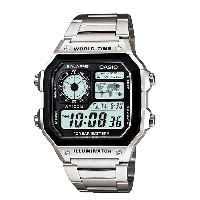 Cách chỉnh giờ đồng hồ Casio Illuminator siêu đơn giản | Thông tin ...