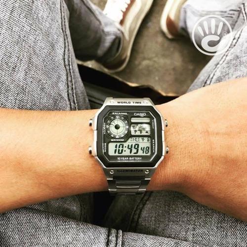 Casio AE-1200WHD-1AVDF - trên tay