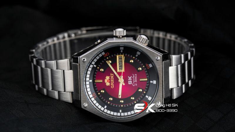 Đồng hồ sk mặt lửa orient ORSO01DO