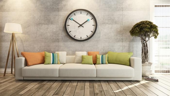 Đồng hồ treo tường là vật dụng không thể thiếu trong mọi gia đình