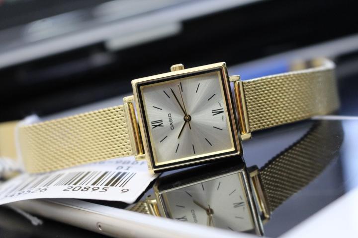 Nét tinh tế của đồng hồ Casio nữ LTP-E155MG-9BDF