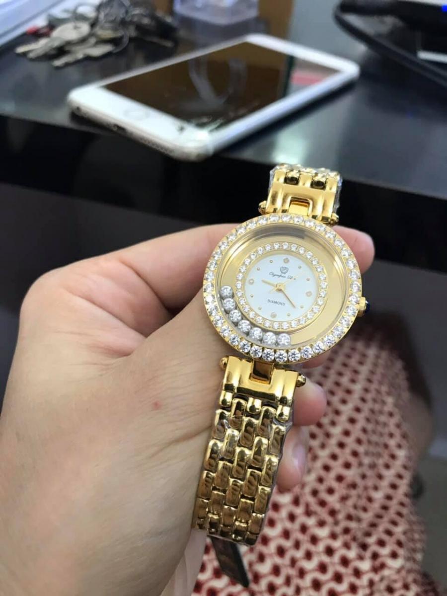 Nét tinh tế của đồng hồ OP nữ OPA28019DLK