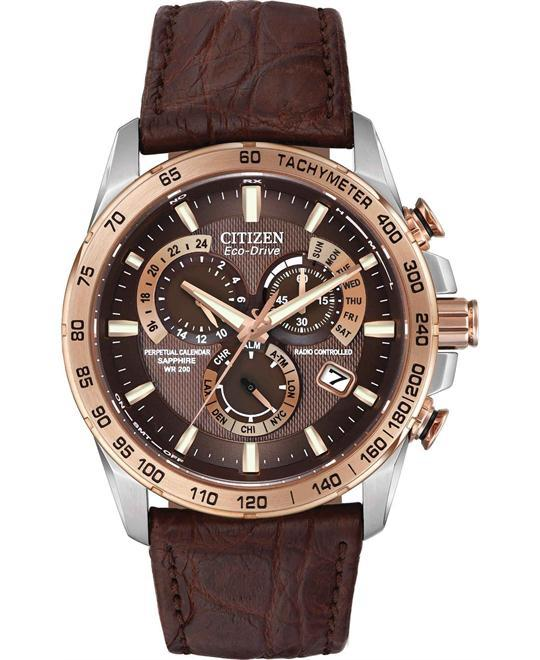 dong ho nam CITIZEN LIMITED EDITION PERPETUAL CHRONO A-T WACTH 42MM