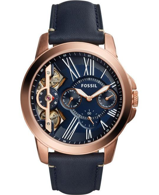 dong ho nam Fossil Grant Twist Three-Hand Chronograph Watch 44mm