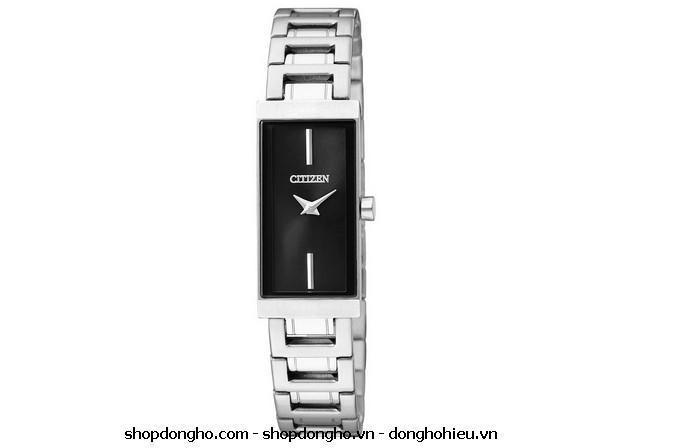 Đồng hồ mặt vuông Citizen EZ6330-51E sang trọng và cá tính