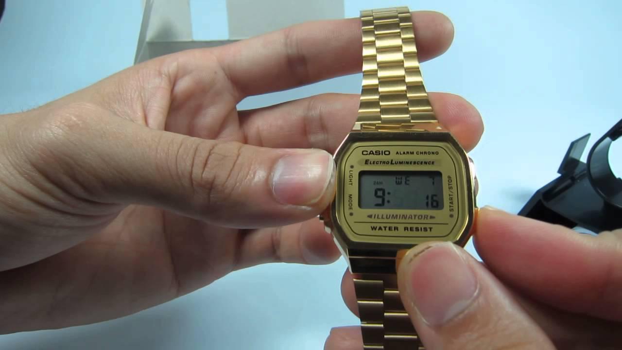 Hướng dẫn cách chỉnh cho đồng hồ Casio | Tư vấn đồng hồ