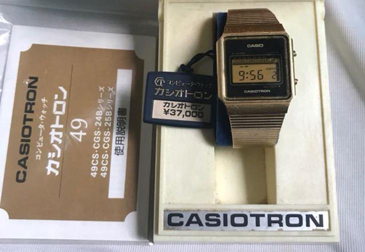 Đồng hồ đeo tay điện tử CASIOTRON