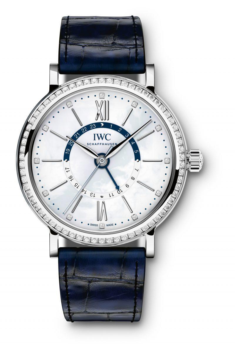 Các kiểu đồng hồ nữ đẹp - IWC Portofino Automatic Day & Night 37