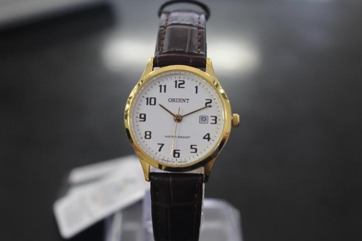 Đồng hồ Orient nữ mặt tròn
