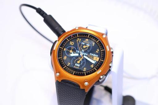 Giới thiệu đồng hồ thông minh WSD-F10 của hãng Casio