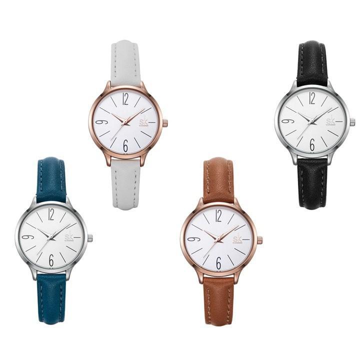 Đồng hồ nữ Shengke Korea K8064L | Shopee Việt Nam