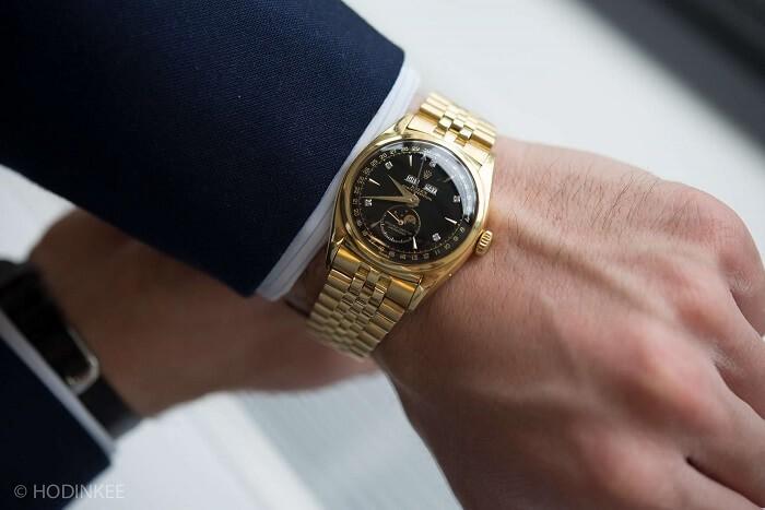 Những mẫu đồng hồ nam bằng vàng 18k siêu đẹp khiến nhiều chàng trai theo đuổi