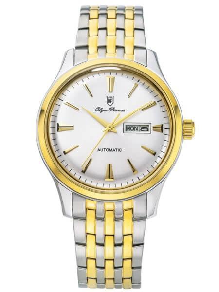 đồng hồ nam cơ giá rẻ Olym Pianus OP8973AMSK-T
