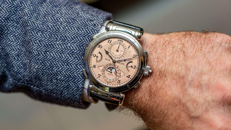 Patek Philippe Grandmaster Chime 6300A-010 trở thành chiếc đồng hồ ...
