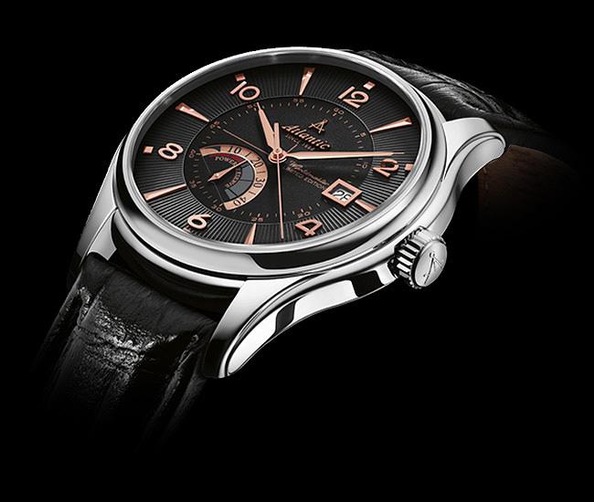 Thiết kế đồng hồ Atlantic