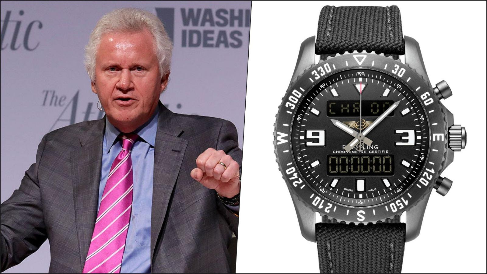 Jeffrey Immelt, cựu CEO của General Electric - Breitling Chronospace M78365 (6.110 USD)