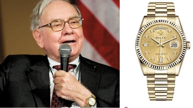 """Warren Buffett là """"fan thứ thiệt"""" của nhãn hiệu đồng hồ cao cấp Rolex"""