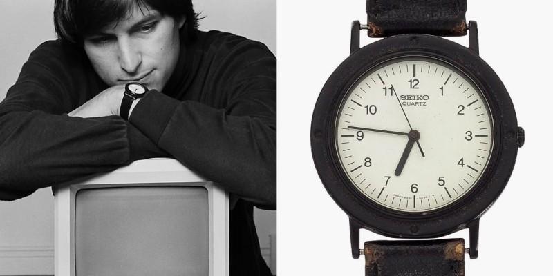 Chiếc đồng hồ Seiko cổ điển của nhà tỉ phú nổi tiếng Steve Jobs
