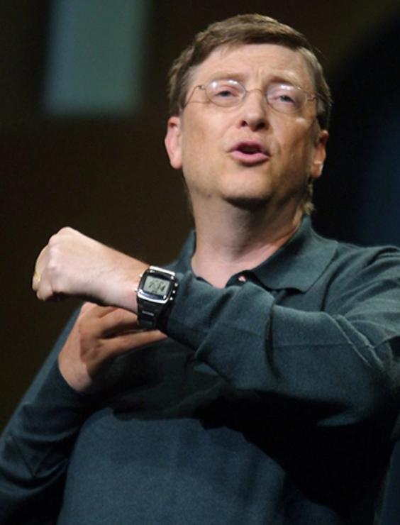 Tỷ phú thế giới chỉ đeo chiếc đồng hồ có giá 10 USD