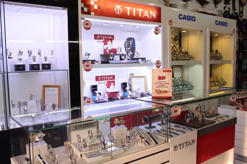 Sản phẩm được trưng bày sản phẩm tại Vinawatch