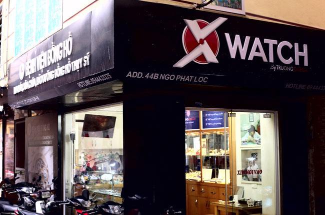 cửa hàng đồng hồ Xwatch