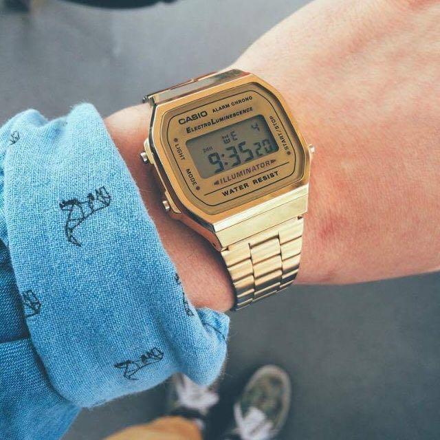 Đồng hồ Casio A168 Gold - 1.100.000đ | Nhật tảo
