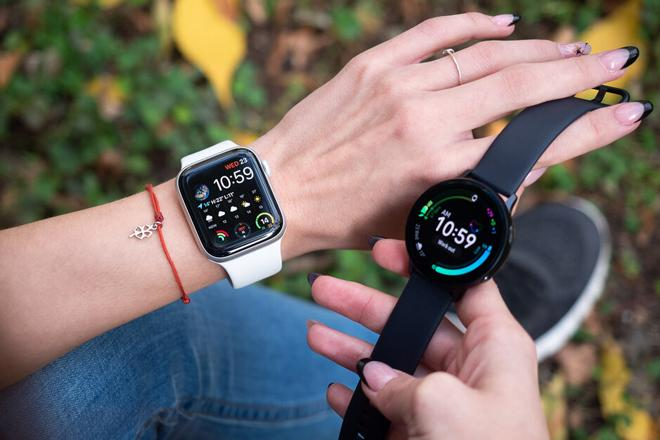 Nên mua Apple Watch Series 5 hay Galaxy Watch Active 2?