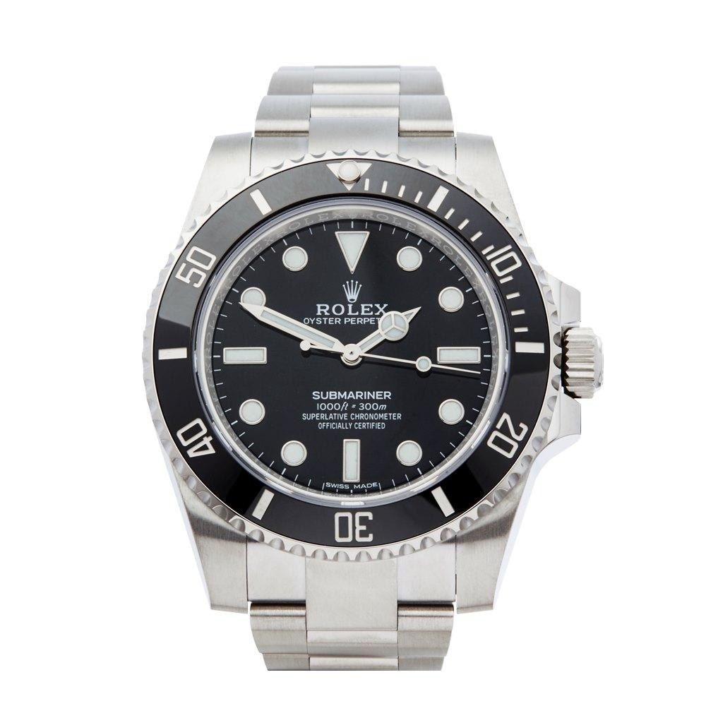 Pre-owned Rolex Watch Submariner 114060 | Xupes""