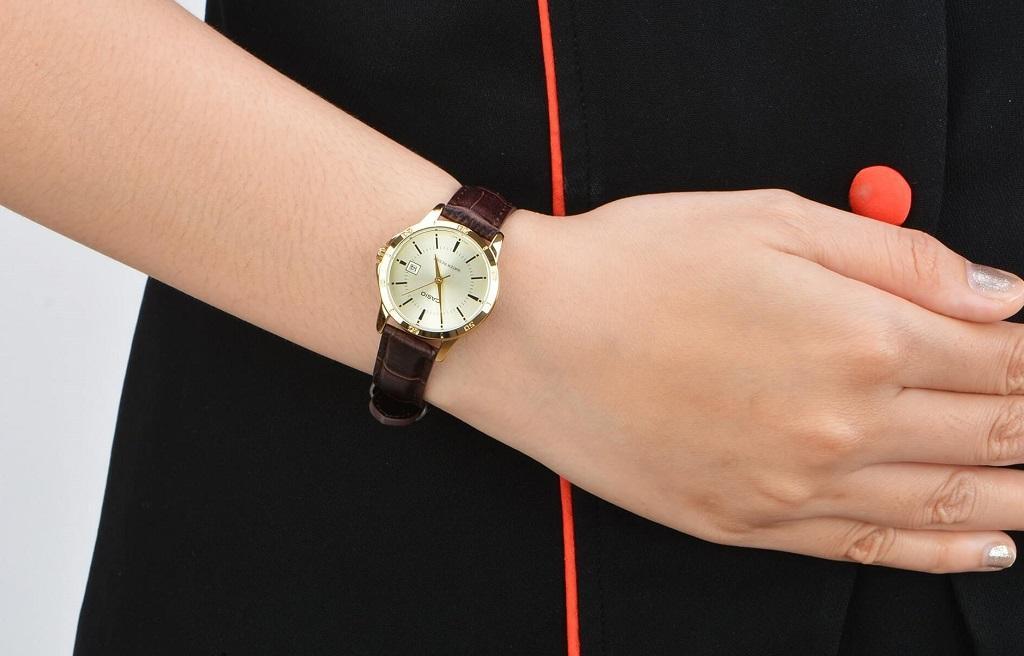 Đồng hồ đeo tay nữ Casio LTP-V004GL-9AUDF chính hãng Tp ...