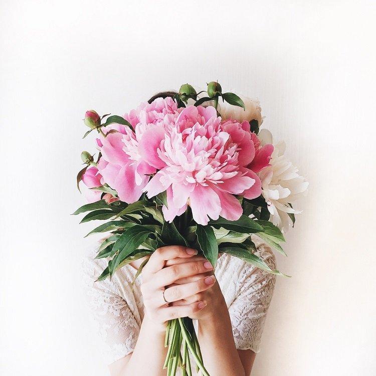 Tặng hoa mẫu đơn ngày của mẹ