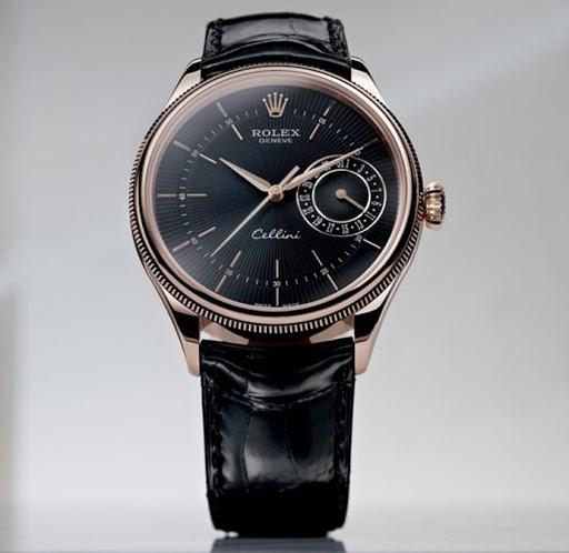 Đồng hồ Rolex Cellini nam. Đồng hồ dây da Rolex