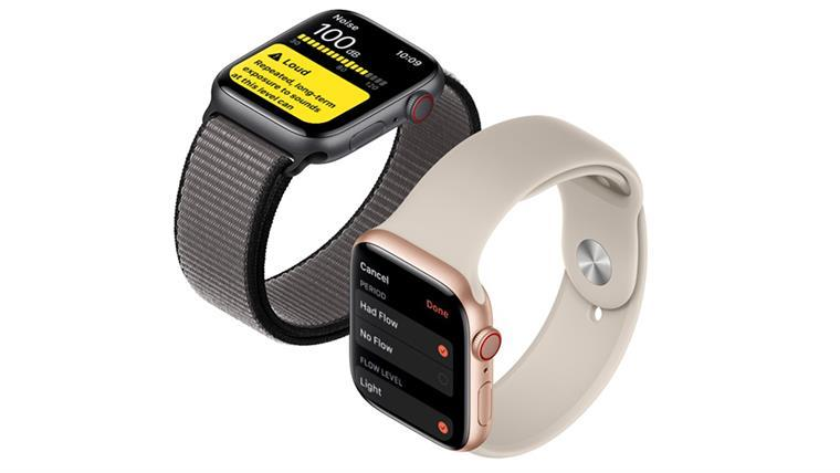 Apple Watch Series 5 GPS, 40mm Space Grey Aluminium Case with ...