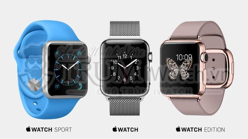 phan loai apple watch - Apple Watch là gì? Có những chức năng gì hay mà bạn nên biết