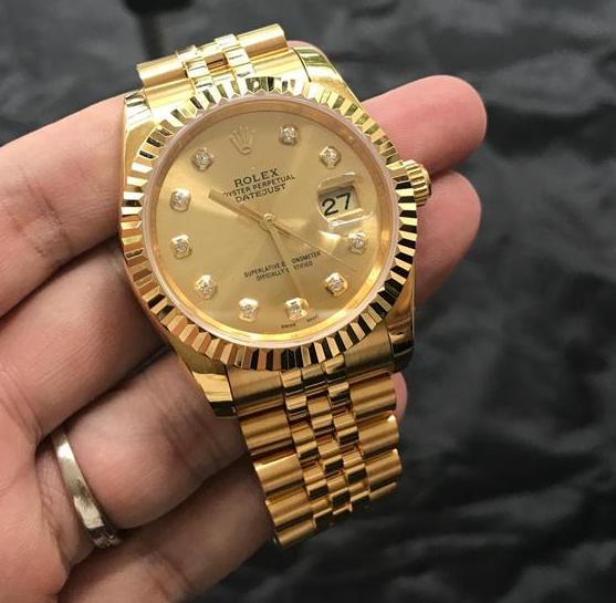 Đồng hồ Rolex oyster perpetual Full Gold ( Máy Eta Thụy Sĩ ) Giá Tốt