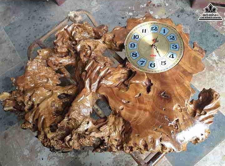 Đồng hồ gỗ Nu Xá Xị